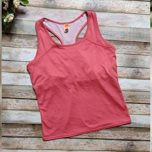 Free with bundle! Lucy Coral Built In Bra Tank Top